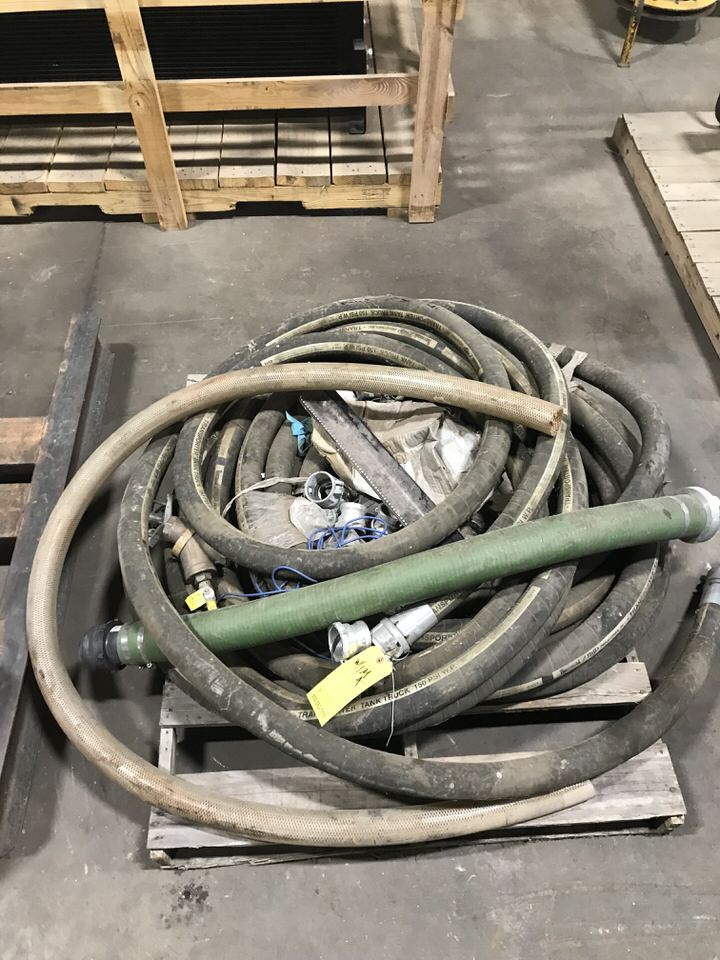 Lot 129A - Water Pump Station, 15HP, w/ Suction Discharge Hose (LOCATION: 3421 N SYLVANIA, FT WORTH, TX,