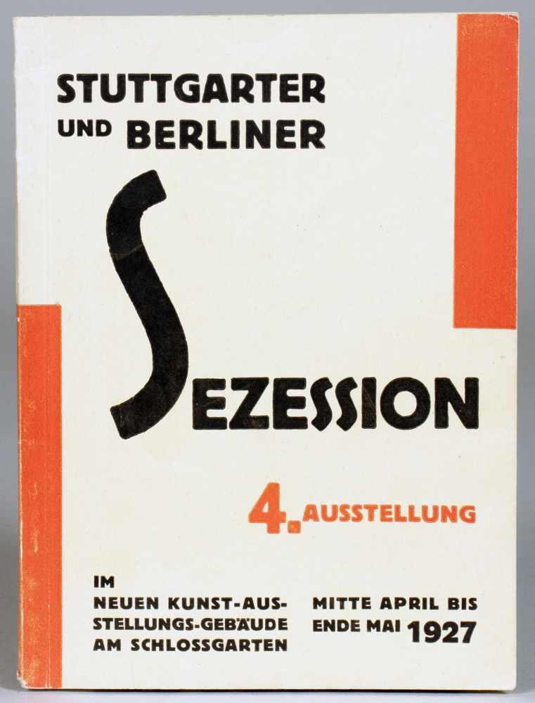 Willi Baumeister - Stuttgarter und Berliner Sezession 4. Ausstellung im Neuen Kunstgebäude am
