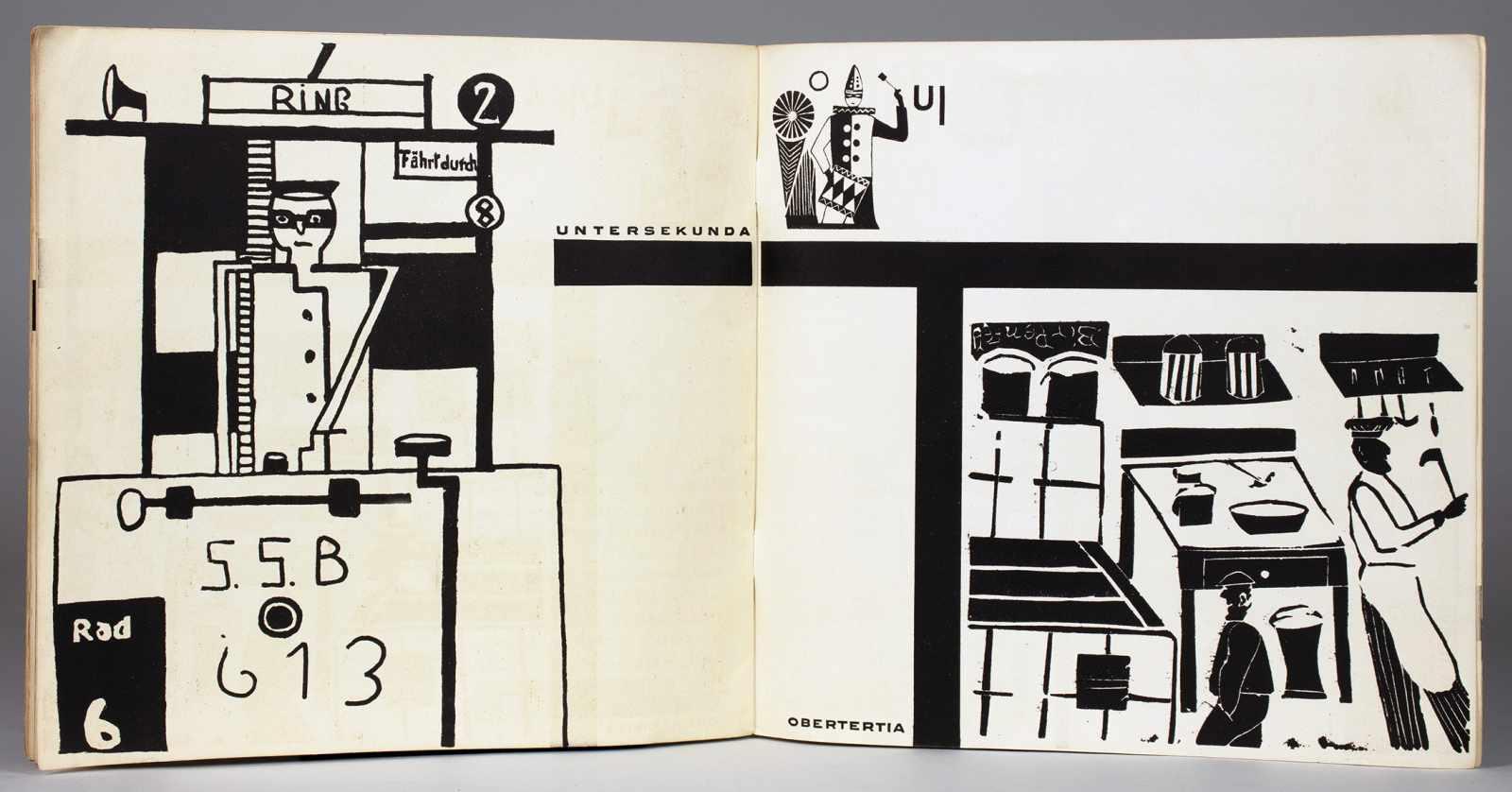 Johannes Molzahn - Gestaltung, Gestaltung. Zur schlesischen Arbeitsgemeinschaft für Zeichen- u. - Image 4 of 4