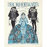 Karl Ritter. Drei Zeichnungen, zwei für Umschläge der Zeitschrift »Der Orchideengarten«. 1920. I.
