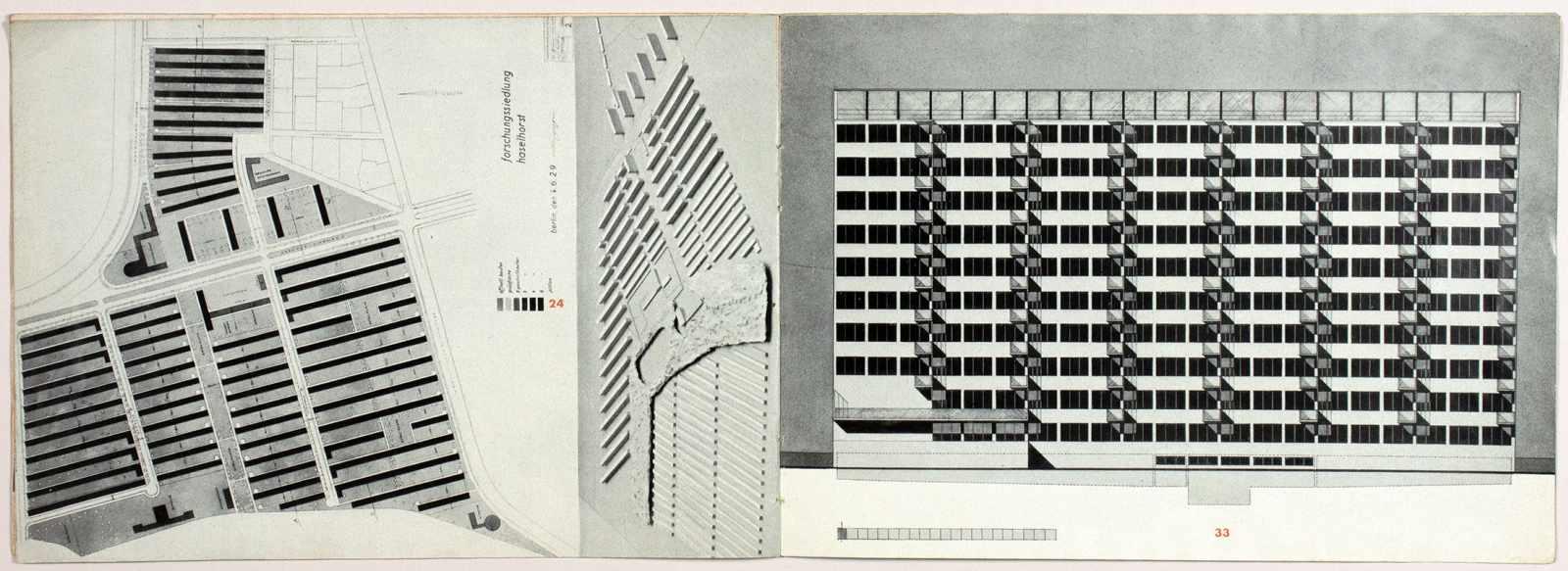 Laszlo Moholy-Nagy - Ausstellung Walter Gropius. Zeichnungen, Fotos, Modelle in der ständigen - Image 5 of 8