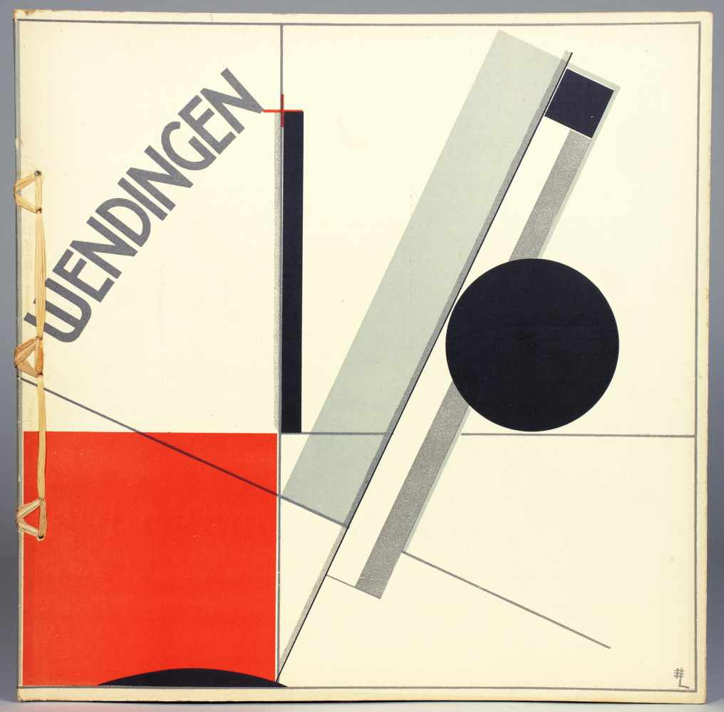 El Lissitzky - Wendingen. Serie IV, Heft 11. Sonderheft Frank Lloyd Wright. Amsterdam, De Hooge Brug