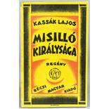 Lajos Kassak. Misilló királysága. Regény. Második kiadás. (ungarisch: Das Königreich Misillo. Roman.
