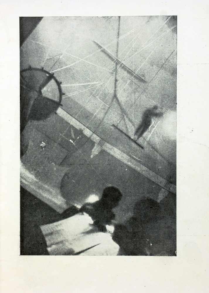 Novyi LEF. No. 12. Moskau, Gosizdat Dezember 1928. Mit vier fotografischen Abbildungen auf Tafeln. - Image 2 of 2