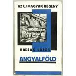 Lajos Kassak. Angyalföld. Regény (ungarisch: Engelfeld. Roman). Budapest, Pantheon (Globus) [