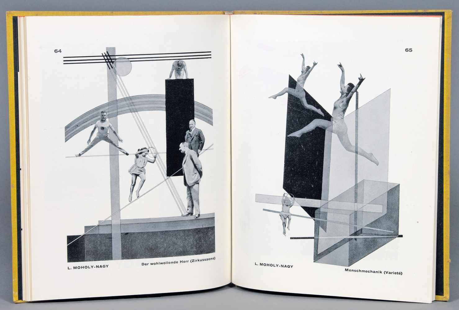 Bauhaus - Walter Gropius. Internationale Architektur. München, Albert Langen 1925. Mit zahlreichen - Image 2 of 2