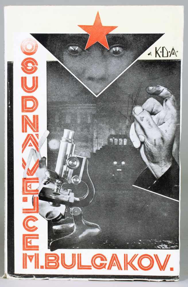 Michail Bulgakov. Osudná vejce (tschechisch: Die verhängnisvollen Eier). Prag, Knihy Dobrých