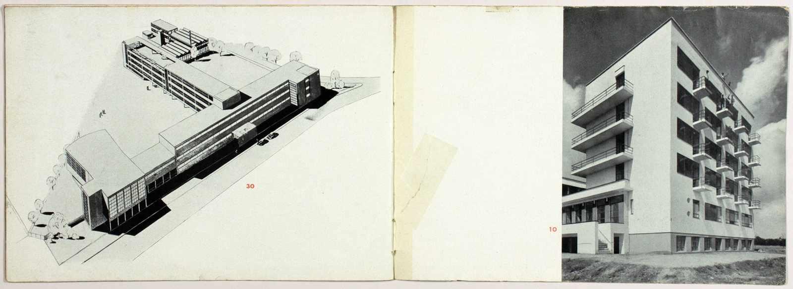 Laszlo Moholy-Nagy - Ausstellung Walter Gropius. Zeichnungen, Fotos, Modelle in der ständigen - Image 7 of 8