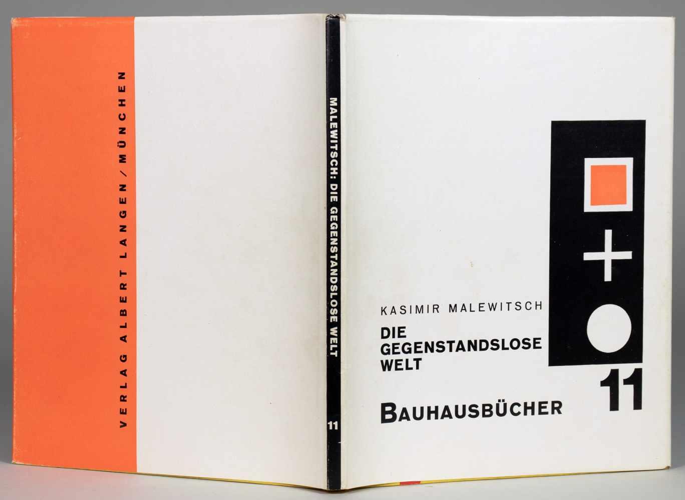 Bauhaus - Kasimir Malewitsch. Die gegenstandslose Welt. Die Übersetzung besorgte A. von Riesen.