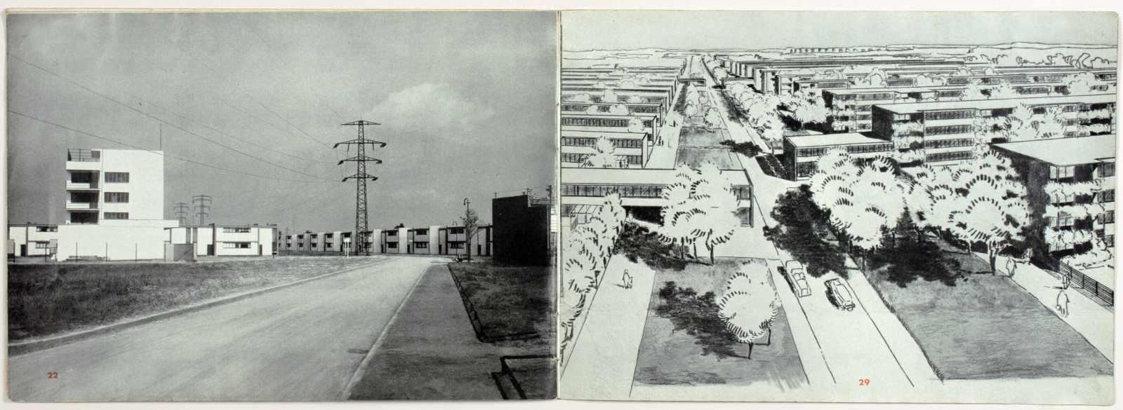 Laszlo Moholy-Nagy - Ausstellung Walter Gropius. Zeichnungen, Fotos, Modelle in der ständigen - Image 6 of 8