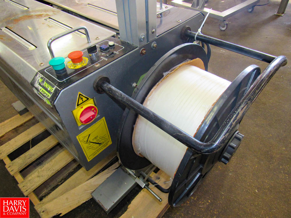 Saturn Strapping Systems Mdl. SA-330 Arch Style Plastic Strapping Machine Rigging Fee: $ 50 - Image 3 of 6