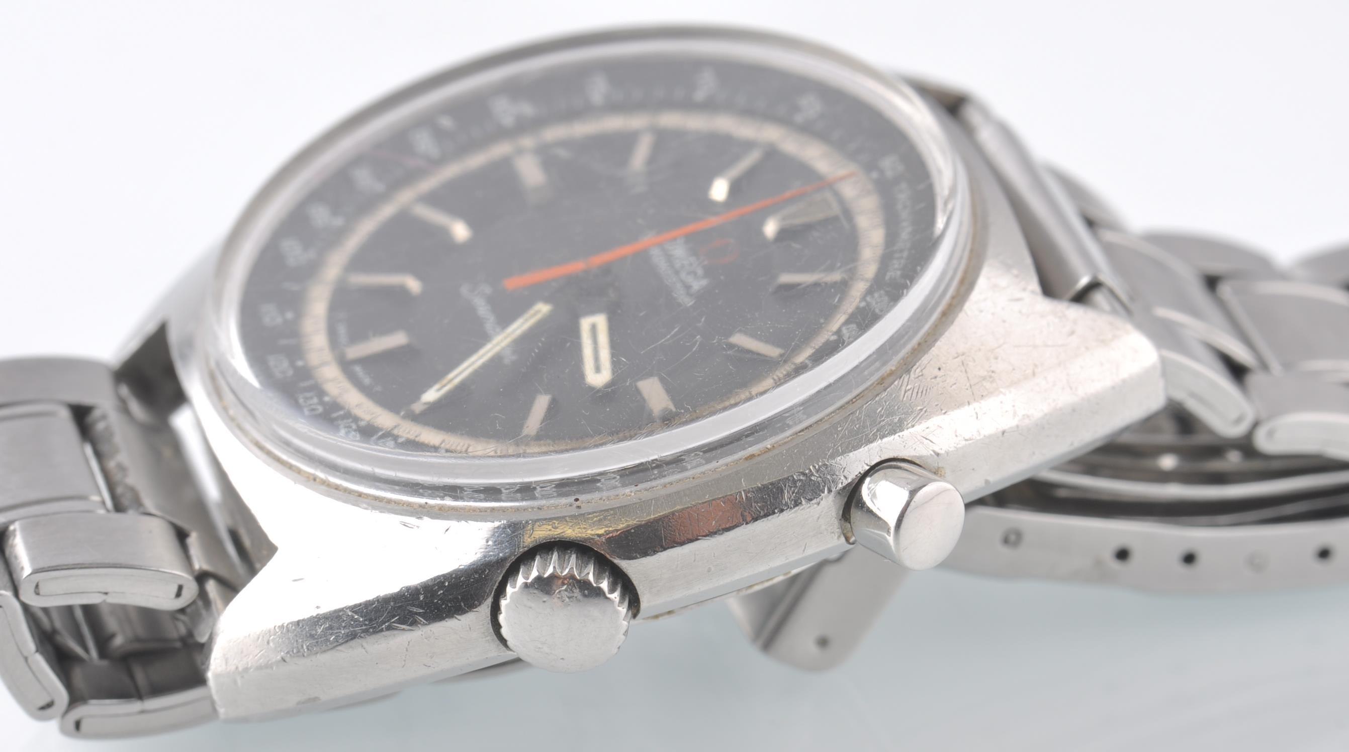 OMEGA SEAMASTER CHRONOSTOP BLACK FACED DIAL - Image 2 of 5