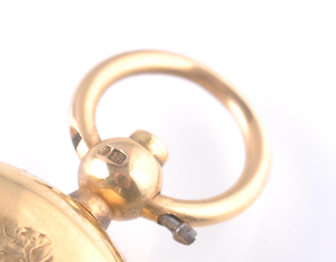 18CT GOLD HALLMARKED VICTORIAN SOVEREIGN HOLDER - Image 3 of 7