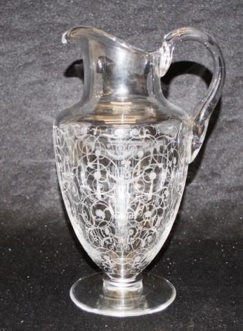 Good Baccarat 'Medici' crystal jug - Image 3 of 3