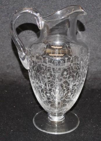 Good Baccarat 'Medici' crystal jug