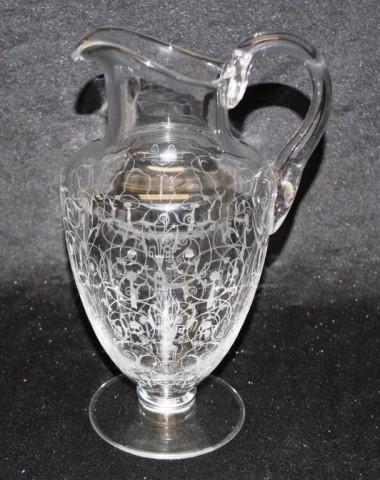 Good Baccarat 'Medici' crystal jug - Image 2 of 3