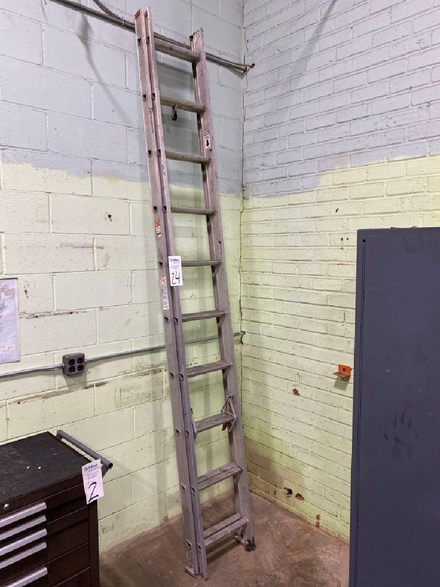 Werner Model Saf-T-Master 20' Aluminum Extension Ladder