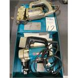 Lot of Makita Model JN3200 Electric 10 Ga Nibbler