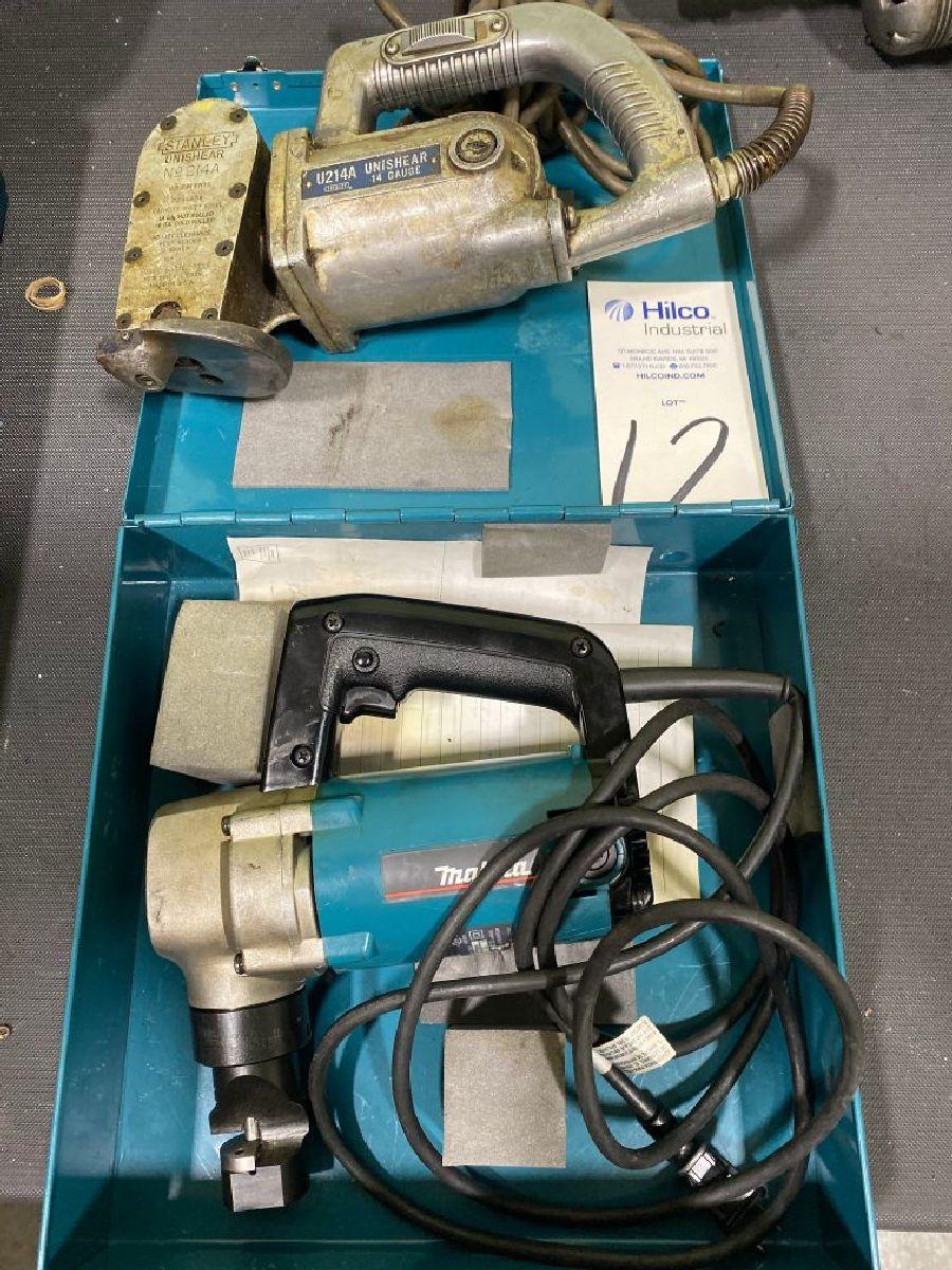 Lot of Makita Model JN3200 Electric 10 Ga Nibbler