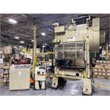 Minster Model P2-100-48 100 Ton Straight Side Double Crank Press
