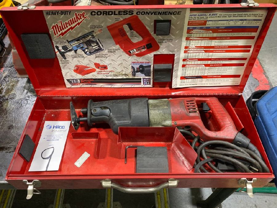 Milwaukee Model 6527 Super Sawzall Electric Reciprocating Saw