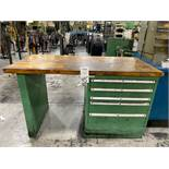 "Lista 30"""" x 60"""" Wood Top Work Bench"