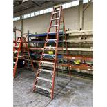 Werner Model 6212 12' Fiberglass Step Ladder
