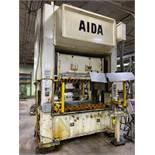 Aida Model NSU-S2-200 220 Ton Straight Side Double Crank Press