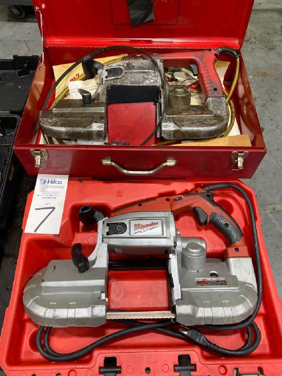 Milwaukee Model 6230 Electric Band Saws