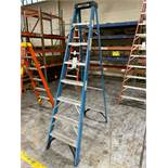 Werner 8' Fiberglass Step Ladder