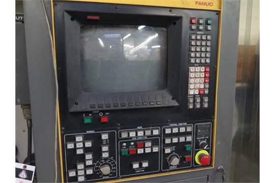 Elox-Fanuc Series P CNC Wire EDM Machine w/ Fanuc Controls, 11 ½â