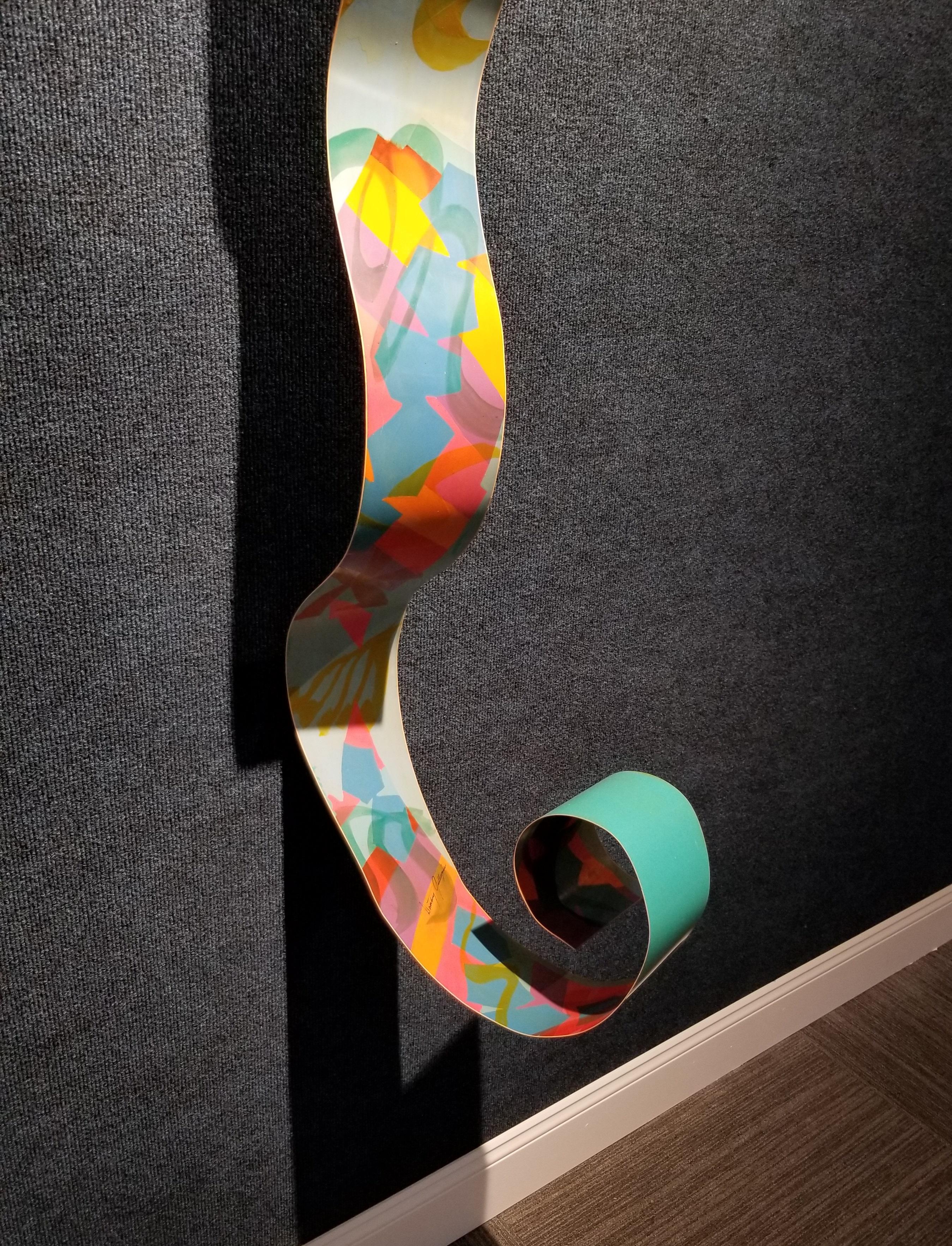 Lot 18 - Dorothy Gillespie (1920 - 2012) Metal Sculpture