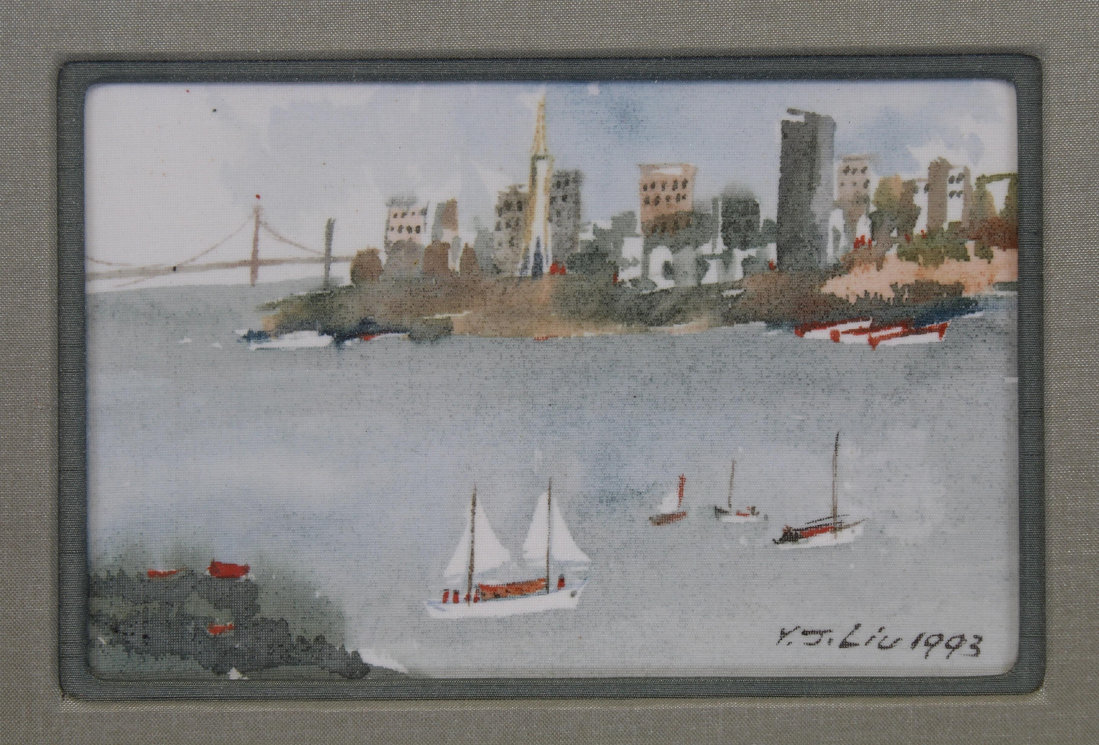 James Y.J. Liu (B. 1910) San Francisco - Image 3 of 4