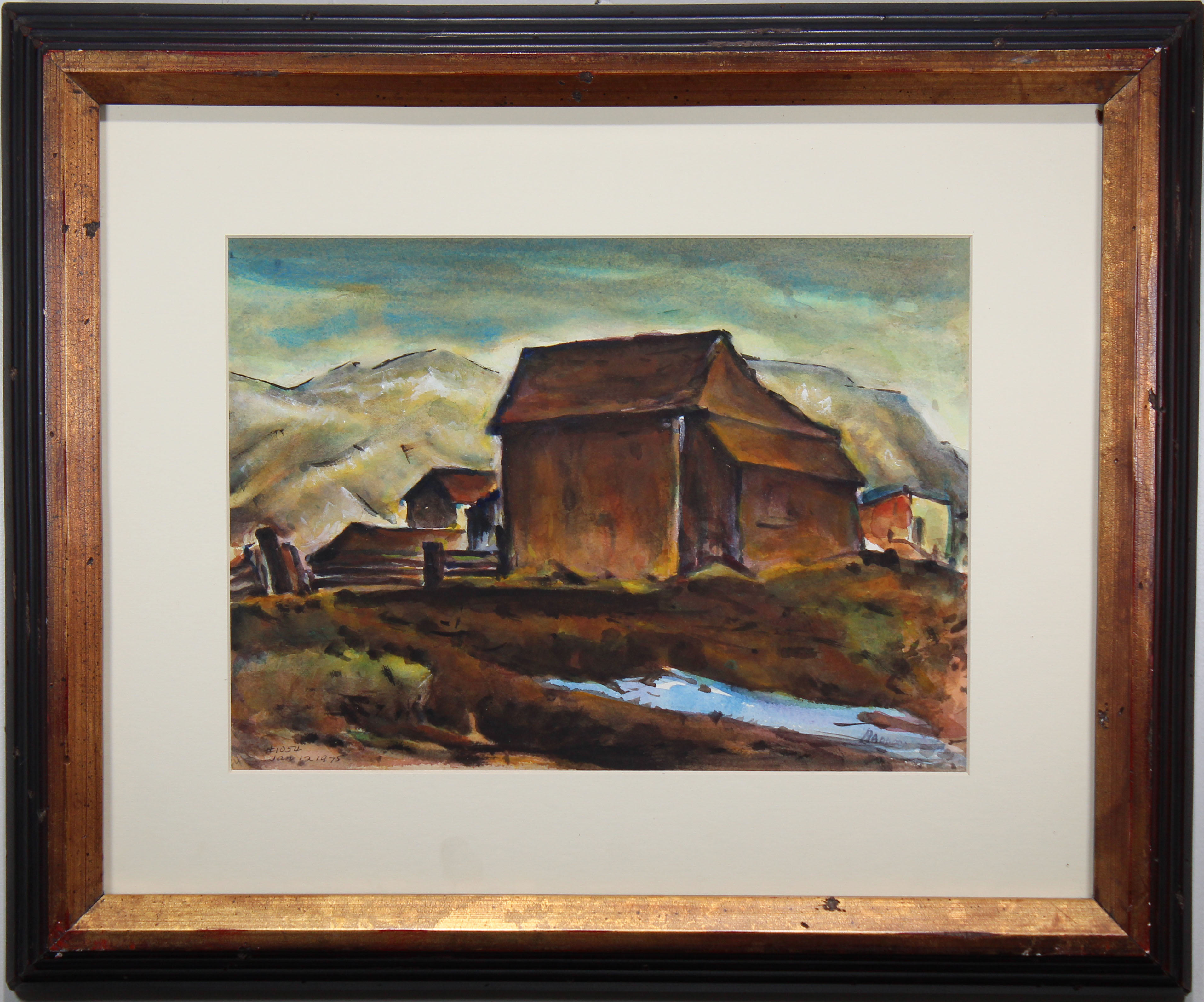 Lot 83 - Arthur Haddock (NM, CA, 1895 - 1980)