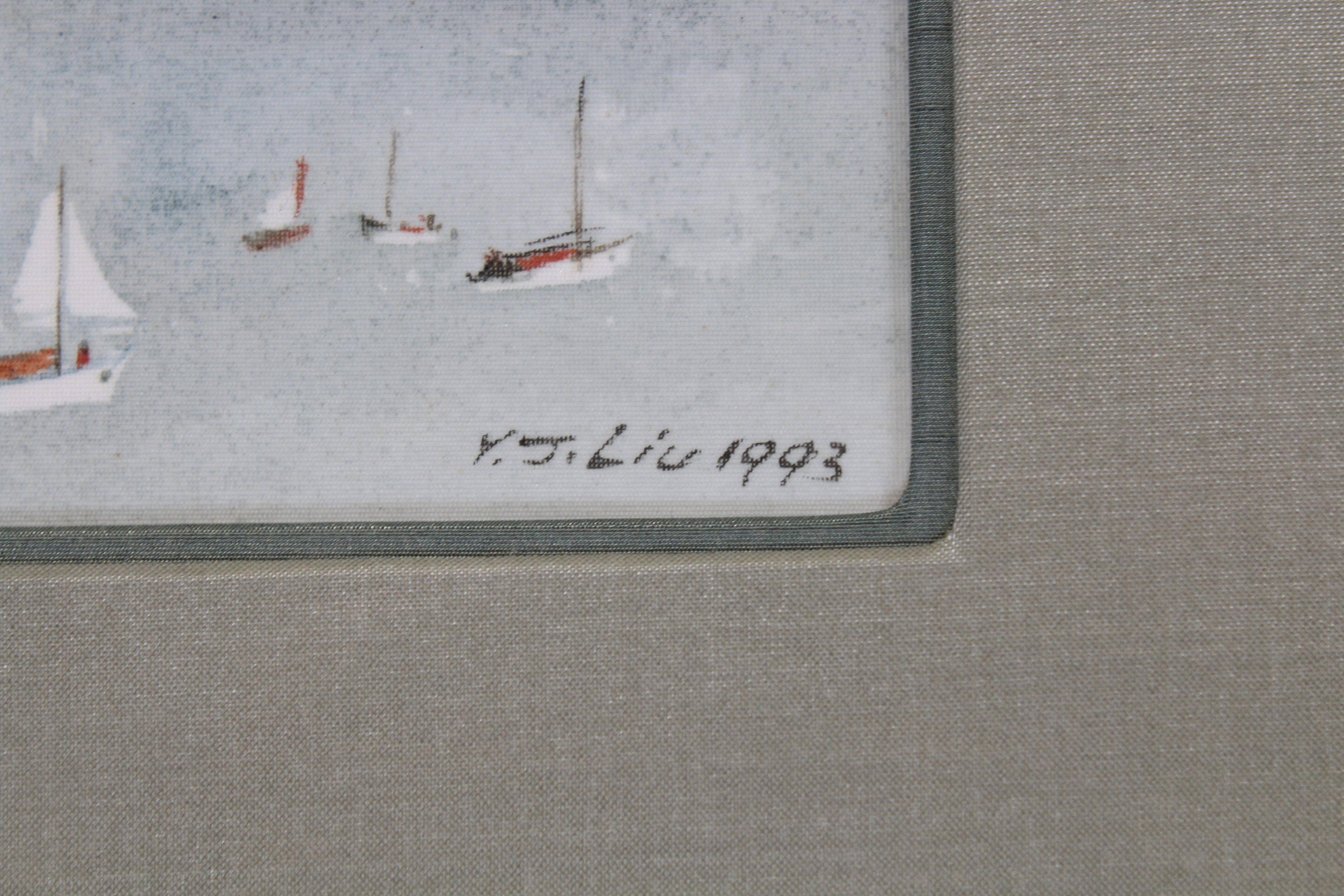 James Y.J. Liu (B. 1910) San Francisco - Image 4 of 4