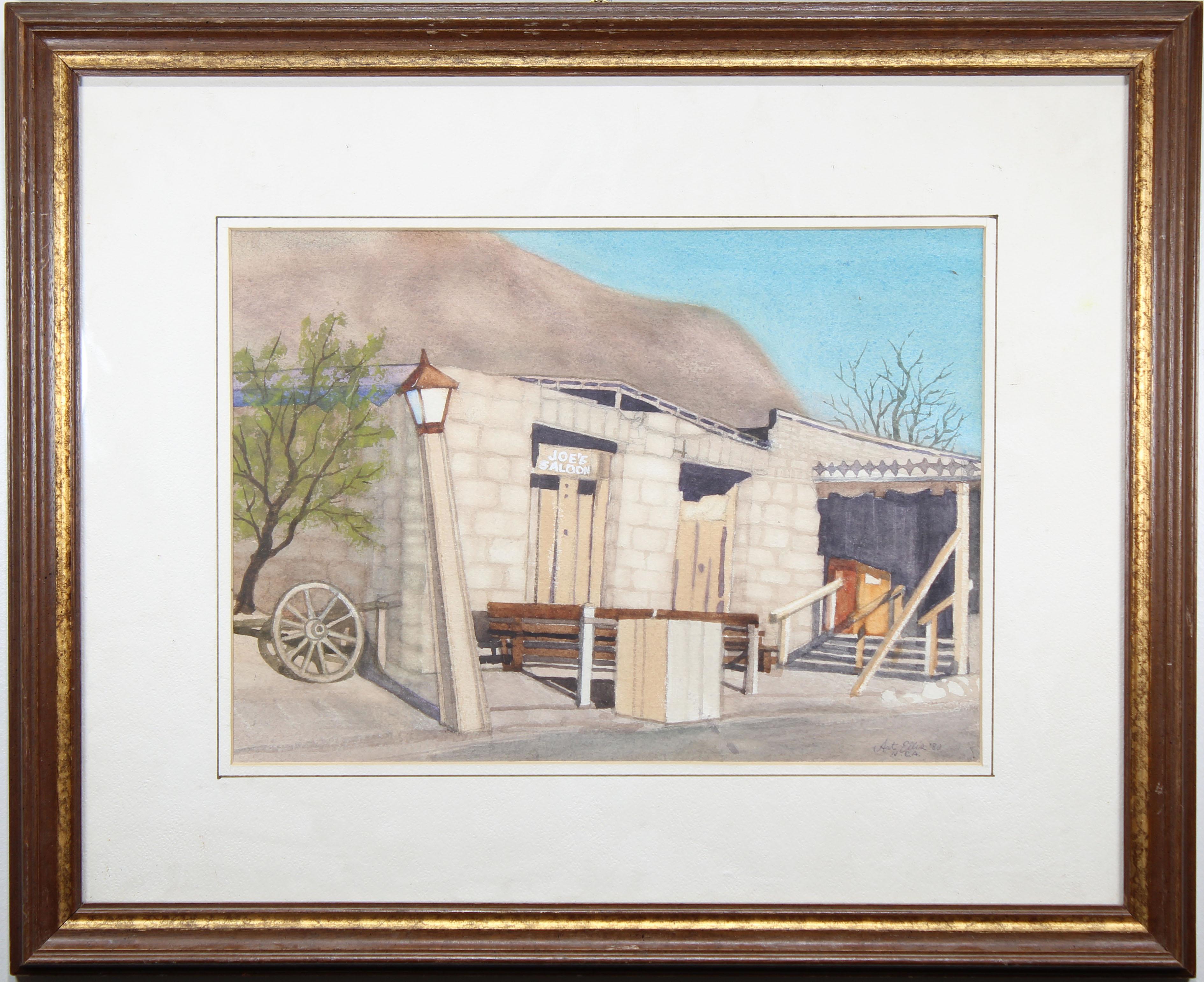 "Lot 84 - Arthur Ellis (1856 - 1918) ""...Joe's Saloon"""