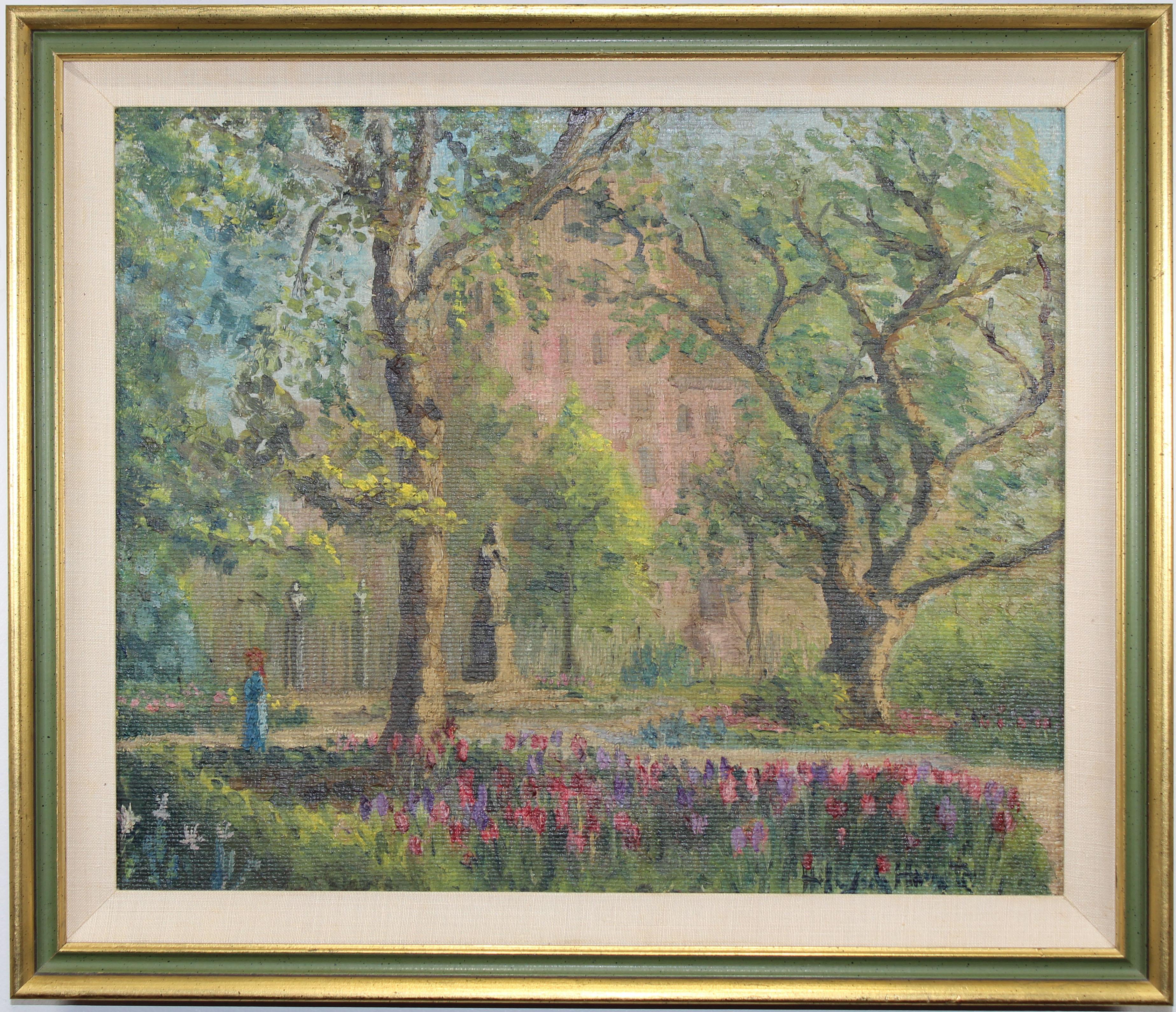 "Lot 62 - Hildegarde Hamilton (1898-1970) ""Gramercy Park"""