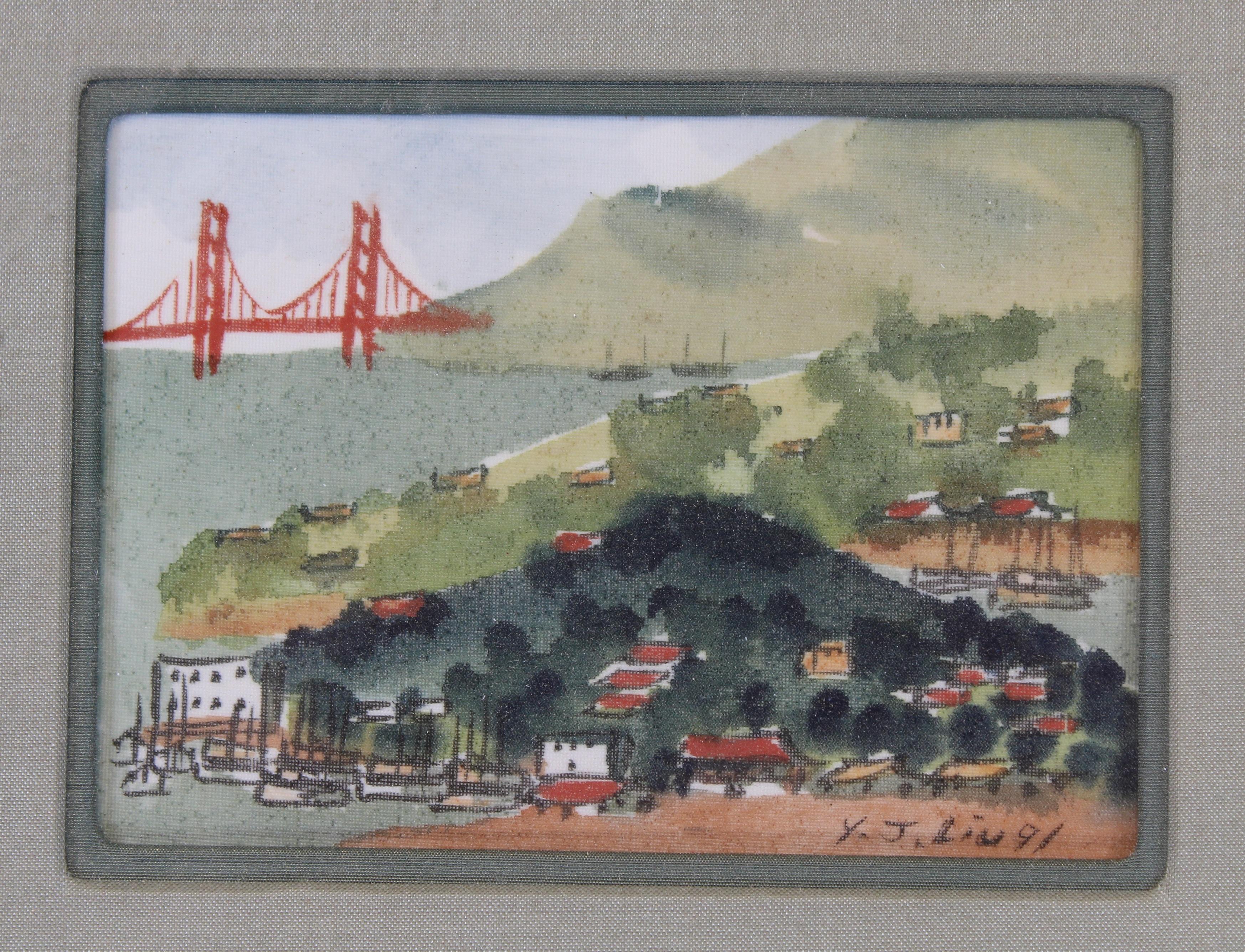 James Y.J. Liu (B. 1910) San Francisco - Image 2 of 4