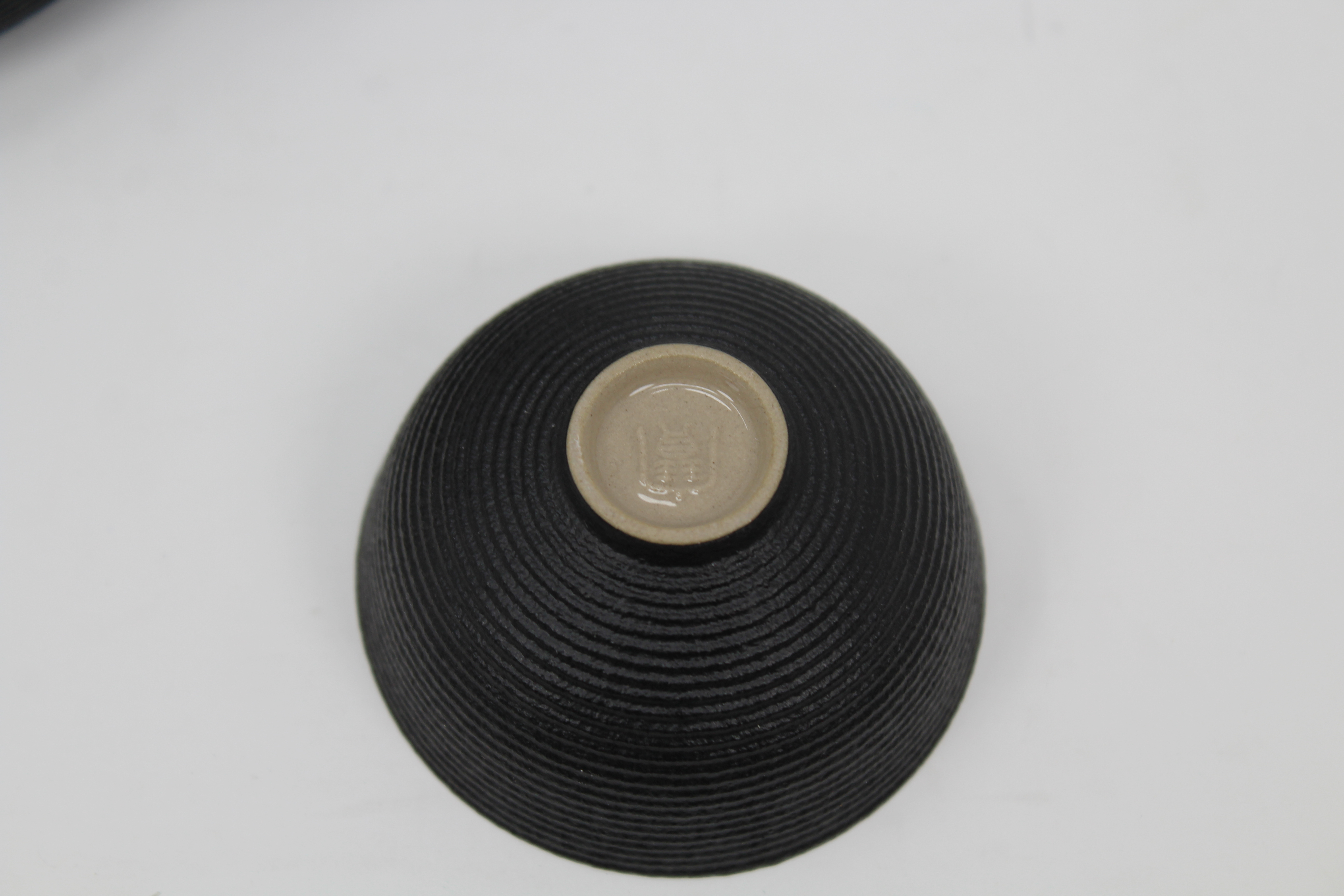 Lot 53 - Signed, 8 Piece Chinese Porcelain Tea Set