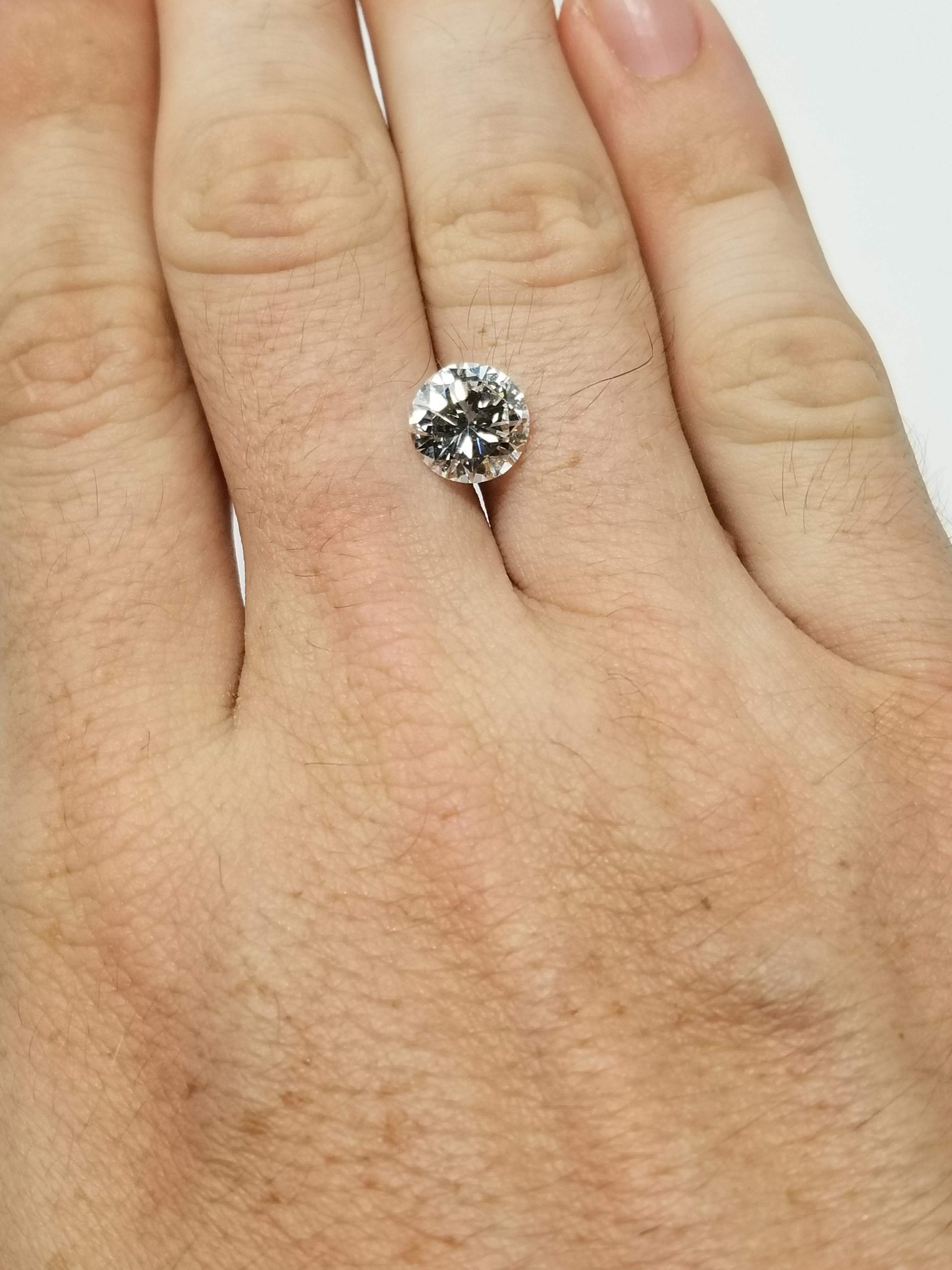 Lot 33 - GIA Certified 3.61ct Round Brilliant Diamond