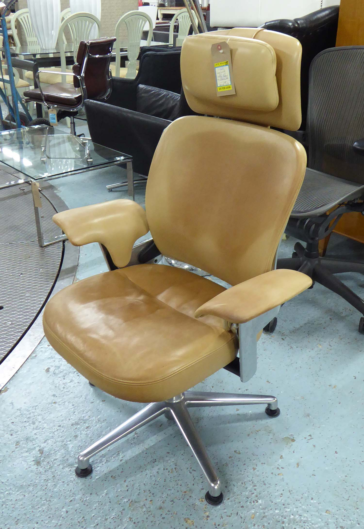 Enjoyable Leap Work Lounge Chair By Steelcase 115Cm H Creativecarmelina Interior Chair Design Creativecarmelinacom