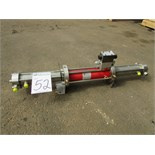 Maximator HDLE 15D Hydraulic Drive Gas Booster 1:2.09 Pressure Ratio. Asset Located in Chandler,