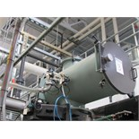 "The Furnace Source Overhead Vacuum Loading Chamber, 17"" Dia. X 36.5"" with Pneumatic Actuated Gate"
