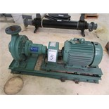 "Water Circulation System with (1) 15HP Taco F12511E2HAJ1L0A Electric Pump with 11.25"" Impeller, (1)"