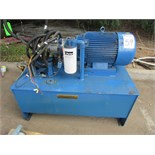 World High Torque Design C WWHT30-18-286TC 60HP Electric Hydraulic Power Unit 1770RPM, 230/460V,