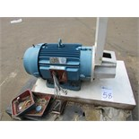 WEG 05036ET3E326TSC-W25 50HP Electric Motor 3550RPM, 230/460V, 112/56A, 60Hz, 3PH. SN# 1022999761.