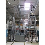 Advantek Engineering 1850Kg Rod, Tube and Ribbon Glass Extrusion Tower and Fiber Optic Draw Tower