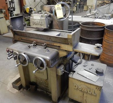 """DOALL SURFACE GRINDER, M# G-1, SURFACE GRINDER, 51952, 6"""" X 18"""" MAGNETIC CHUCK, COOLANT"""