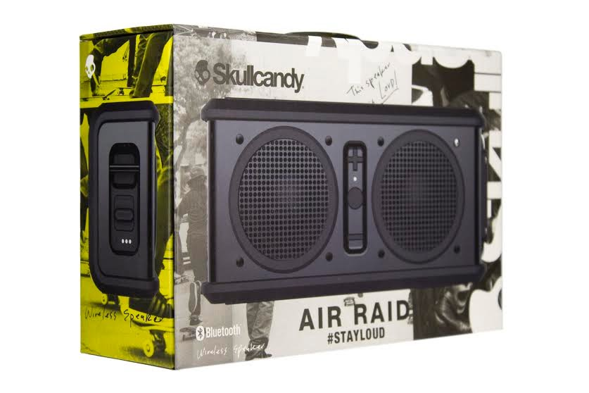 Lot 50049 - V Brand New SkullCandy Air Raid #StayLoud Speaker - ISP £84.99 (Ebay) - Bluetooth & Wireless - Water