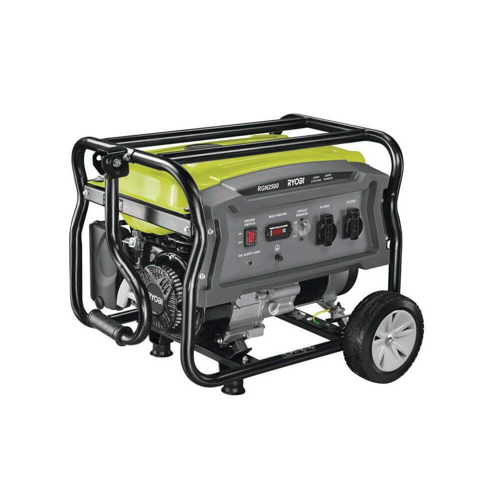 Lot 50047 - V Brand New Ryobi RGN 2500 Generator On Wheels - 208cc - 2.5Kva RRP £399